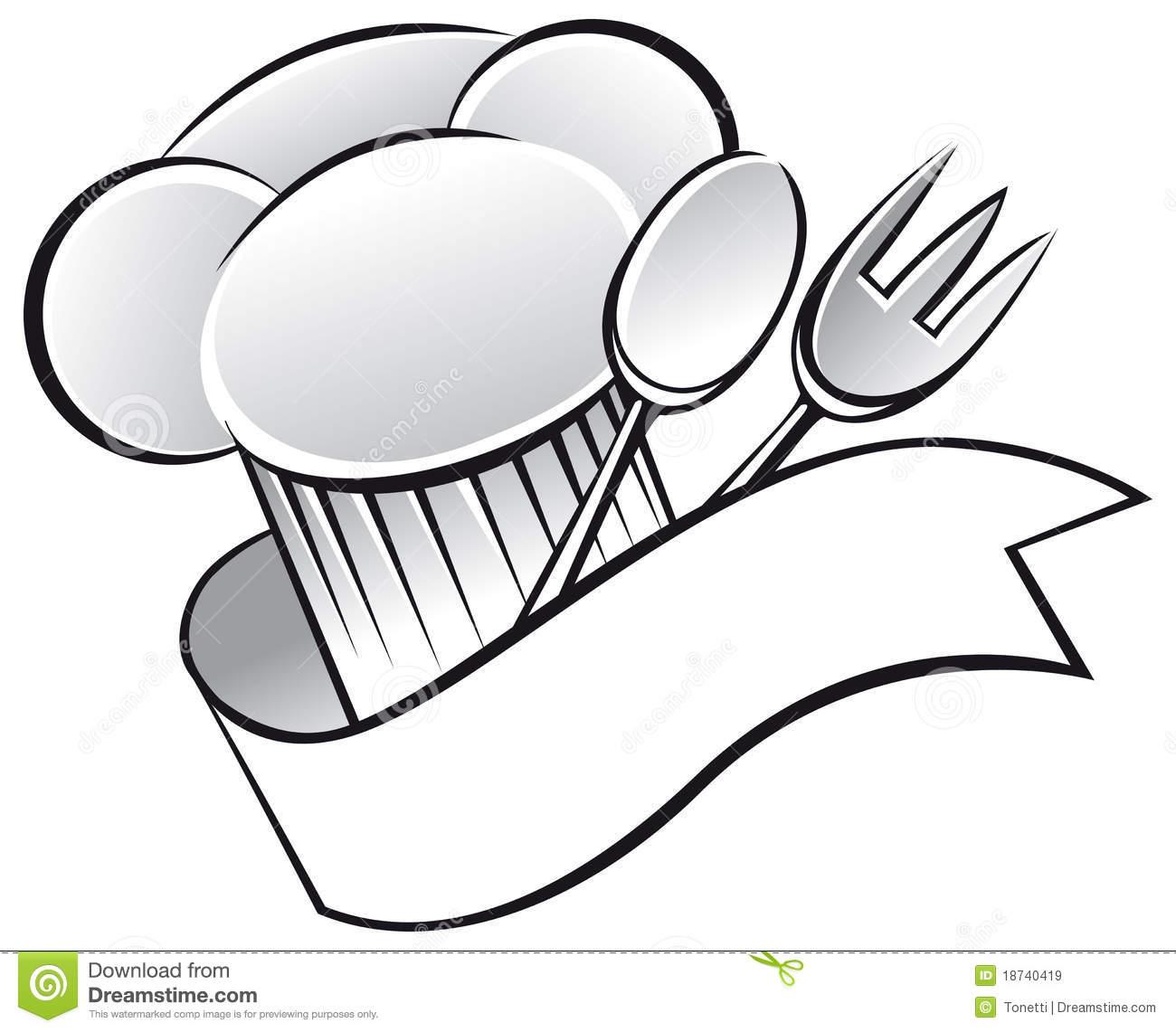Chef utensils clipart png transparent Utensils and chef hat clipart - Clipartable.com png transparent