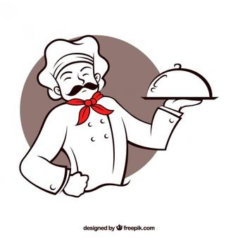 Chef vector clipart