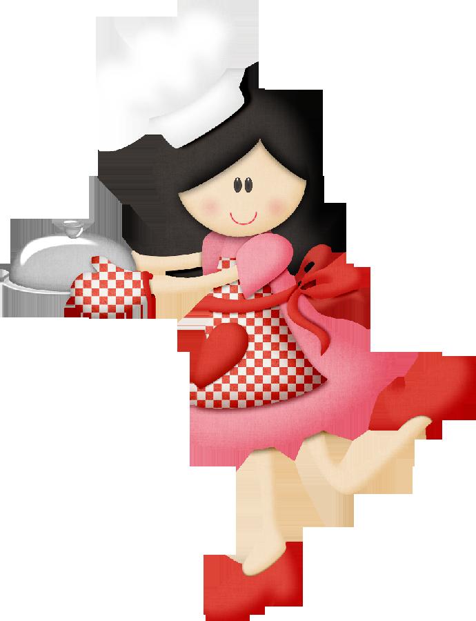 Cooking book clipart preschool clip art library stock Retro Cocinera Utensilios de Cocina para Diseño Material Didáctico ... clip art library stock