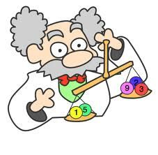 Chemical equations clipart
