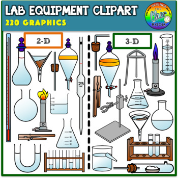 Laboratory equipment clipart svg black and white Lab Equipment Clipart (2D & 3D) svg black and white