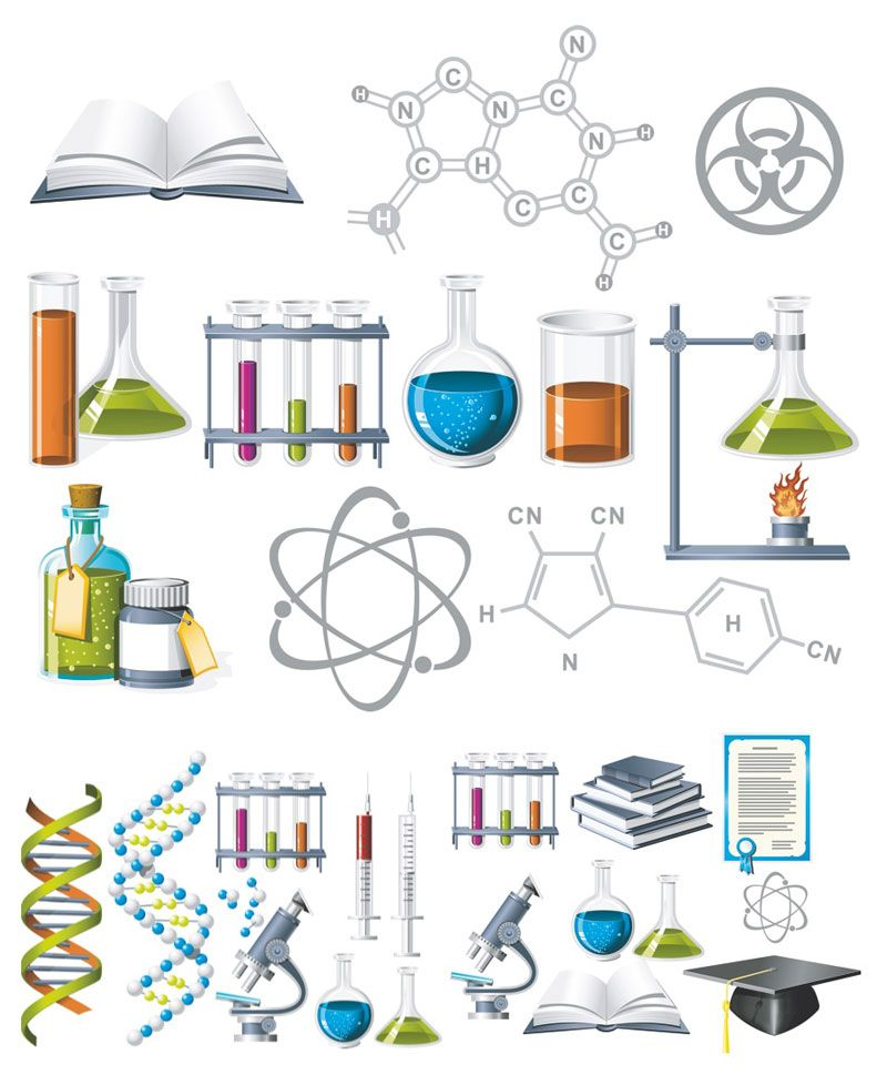 Chemisty clipart clipart black and white Chemistry Clip Art... This one is awesome! | watercolor | Science ... clipart black and white