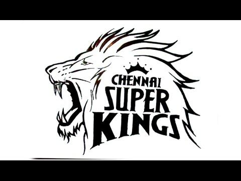 Chennai super kings logo clipart library How To Draw Chennai Super Kings Logo library