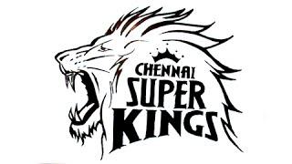 Chennai super kings logo clipart jpg transparent stock How To Draw Chennai Super Kings Logo by JK Media jpg transparent stock