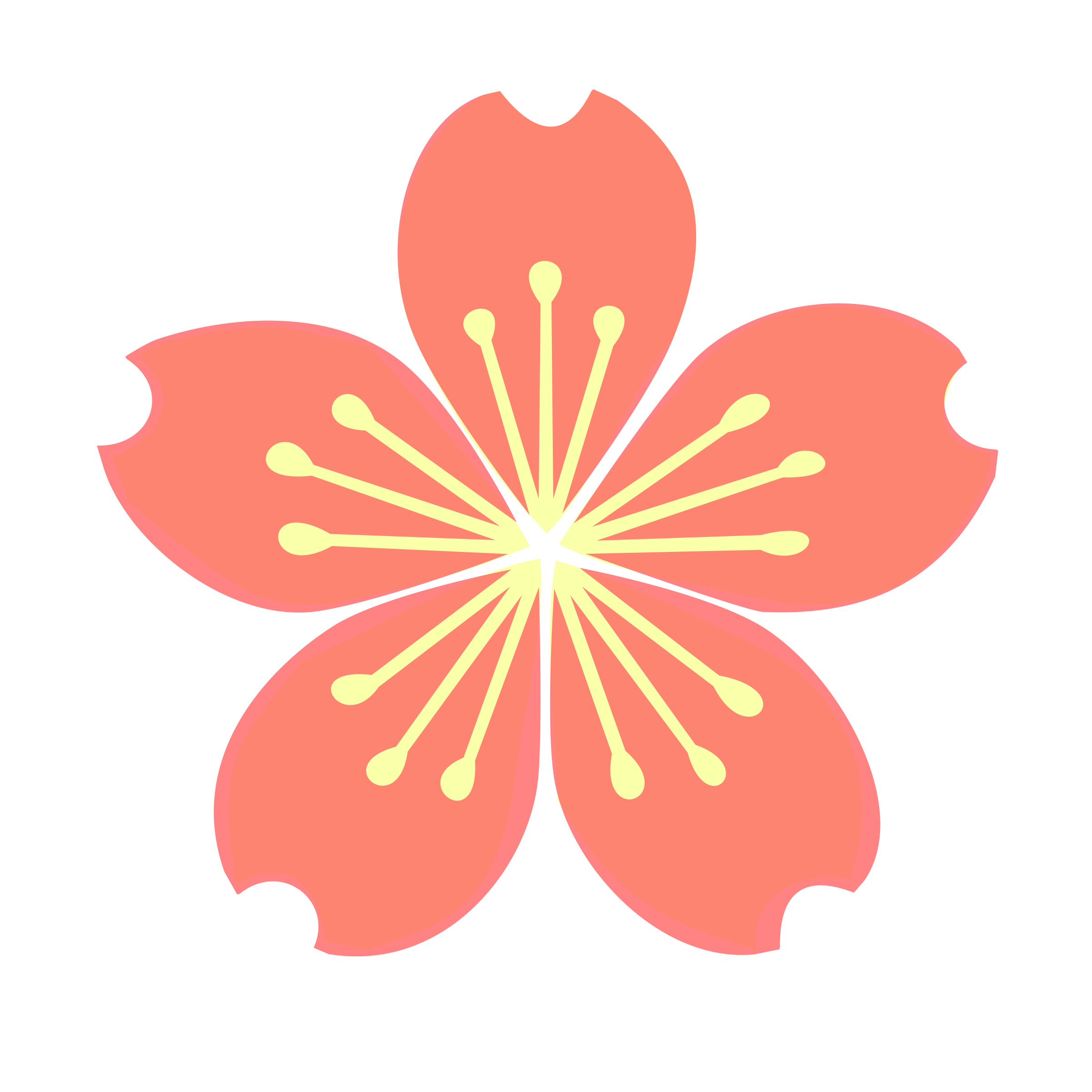 Cherry blossom flower clipart free Clipart - Cherry blossom-loading spinner free
