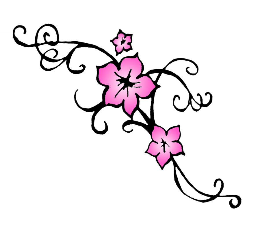 Japanese cherry blossom tree clipart black and white library Cherry Blossom Drawing Outline at GetDrawings.com | Free for ... black and white library