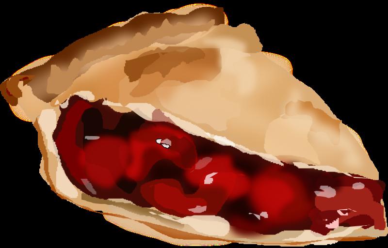 Cherry pie slice clipart banner transparent download Free Clipart: Slice Of Cherry Pie | Degri banner transparent download