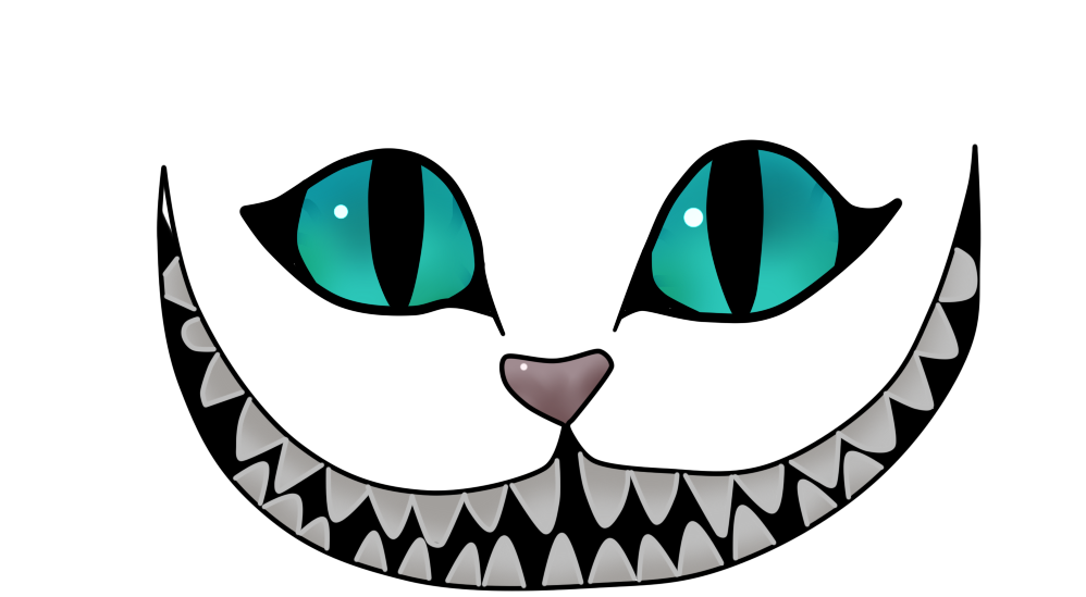 Cheshire cat face clipart svg transparent cheshire cat drawing - Yahoo Image Search Results   Never Grow Up ... svg transparent