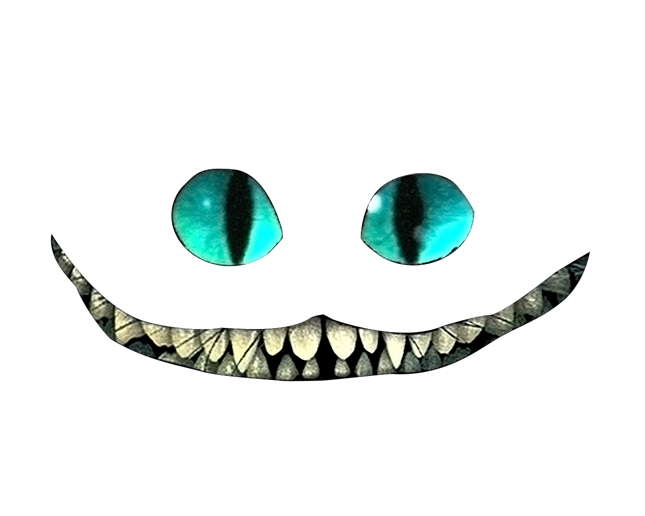 Cheshire cat smile clipart graphic Cheshire Cat PNG Transparent HD Photo | PNG Mart graphic