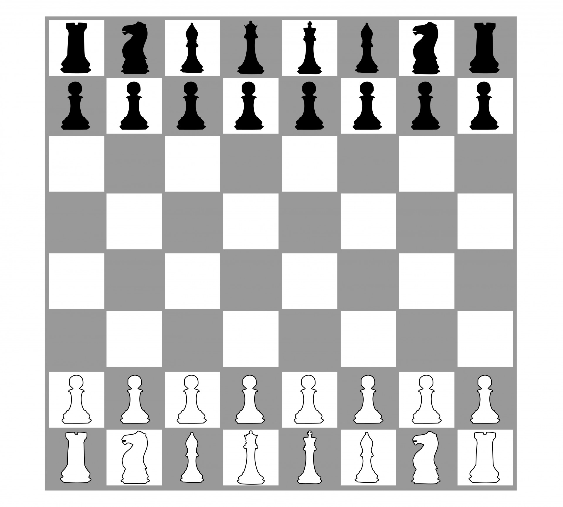 Chess clipart black white svg black and white stock Chess,chess board,pieces,chess pieces,chess set ... svg black and white stock