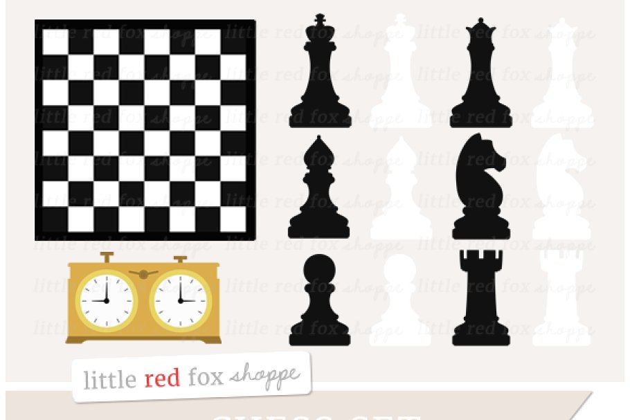 Chess set clipart jpg freeuse download Chess Set Clipart jpg freeuse download