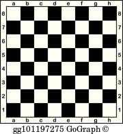Chessboard clipart picture royalty free library Chess Board Clip Art - Royalty Free - GoGraph picture royalty free library