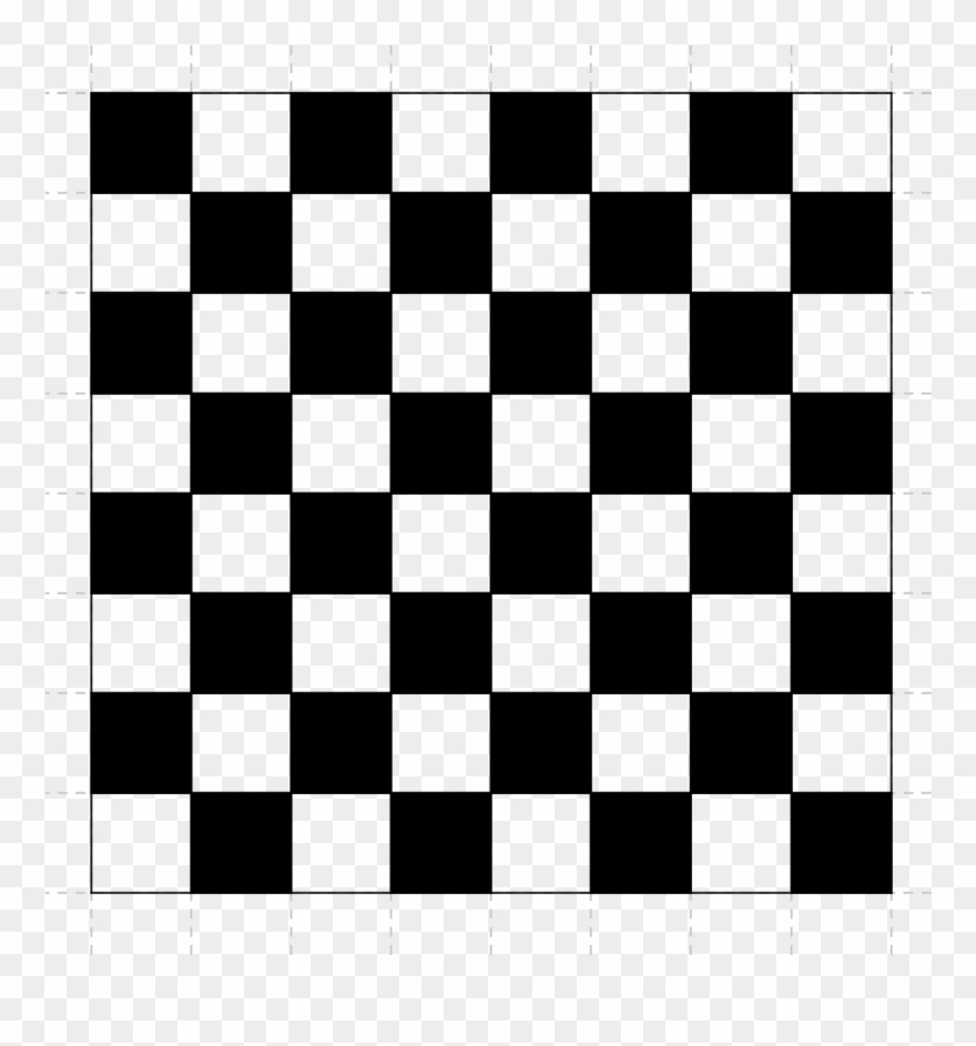 Chess clipart black and white vector free Picture Library Checkered Clipart Chess Board - Black And White ... vector free
