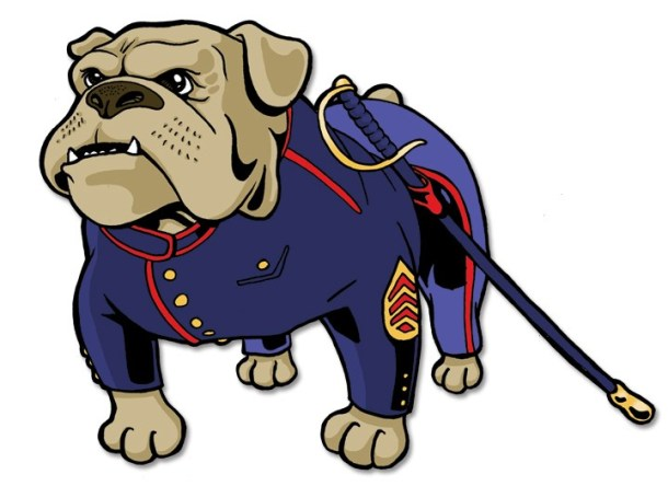 Chesty bulldog clipart image royalty free Army and Navy Bulldogs * Baggy Bulldogs image royalty free
