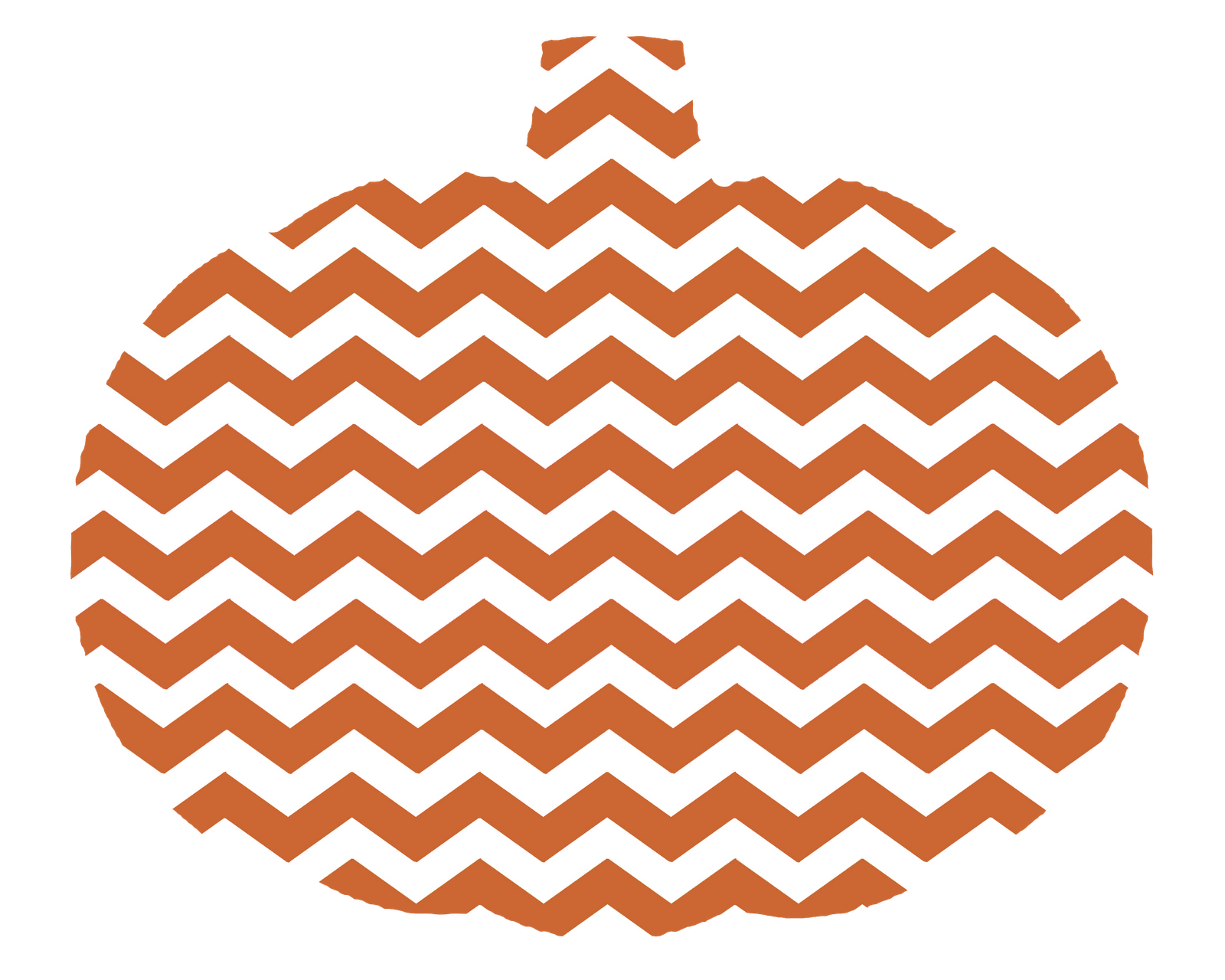 Stripy pumpkin clipart svg black and white download 28+ Collection of Chevron Pumpkin Clipart | High quality, free ... svg black and white download