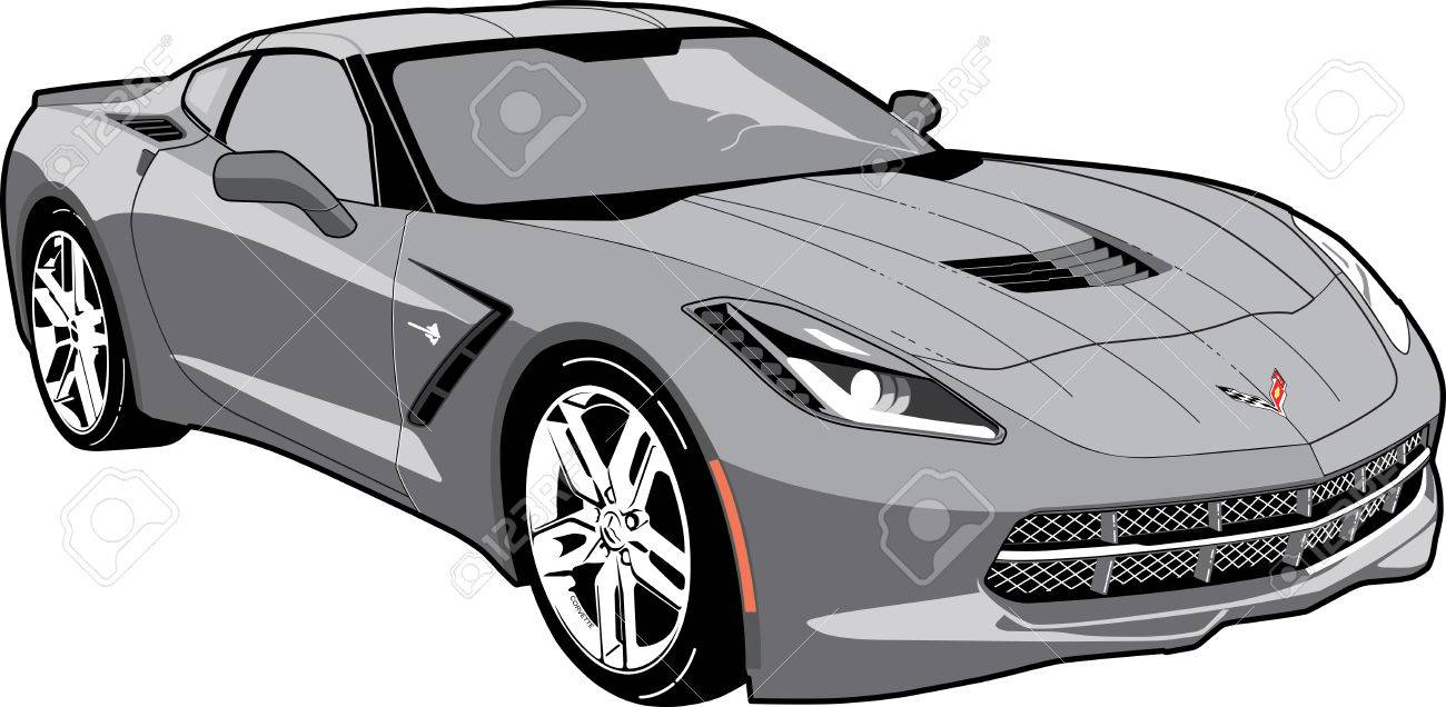 Chevrolet corvette clipart picture freeuse 49+ Corvette Clipart | ClipartLook picture freeuse