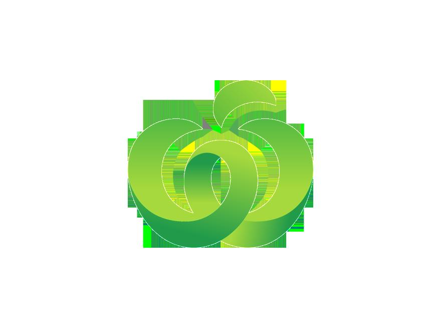 Chevron apple monogram clipart royalty free download Woolworths logo   Logok royalty free download