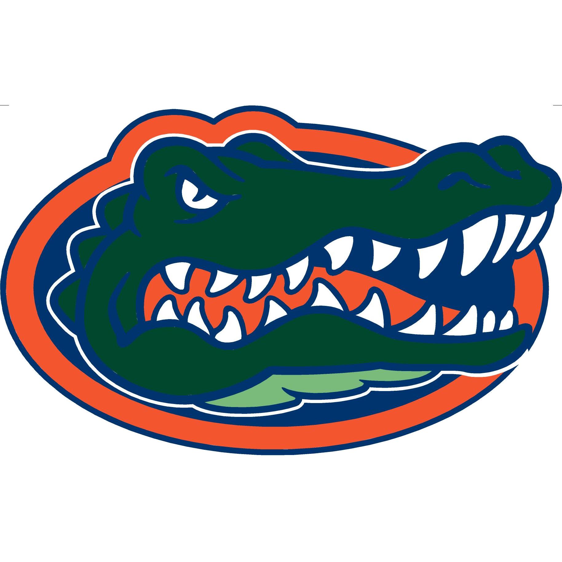 Chevron football clipart vector royalty free library Florida Gator Eating Clipart Group (82+) vector royalty free library
