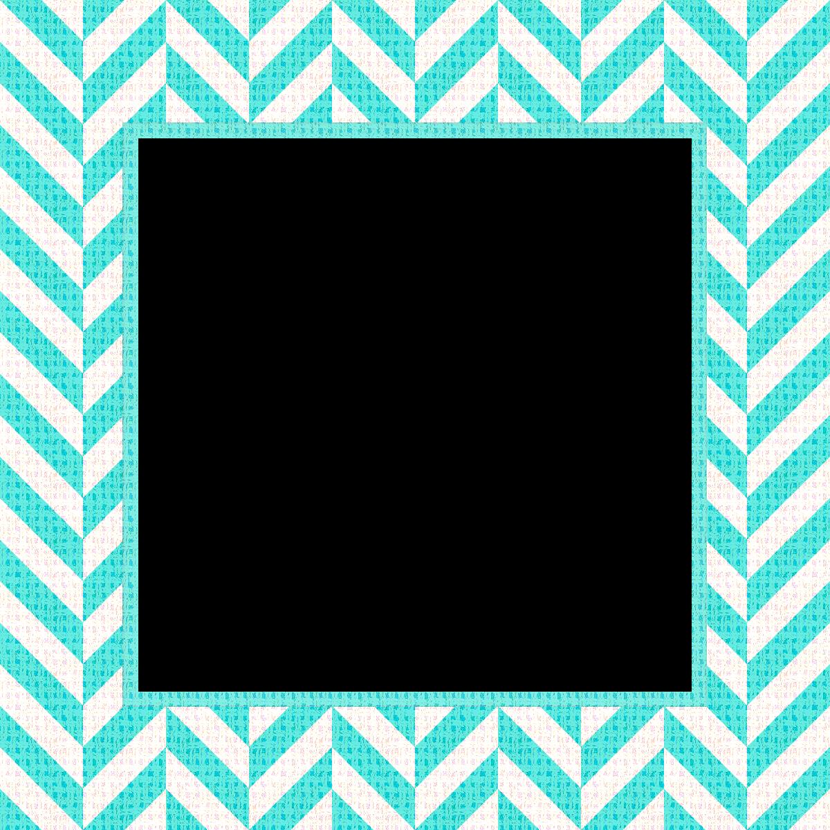 Teal blue chevron border clipart vector library stock Free Chevron Frame Cliparts, Download Free Clip Art, Free Clip Art ... vector library stock
