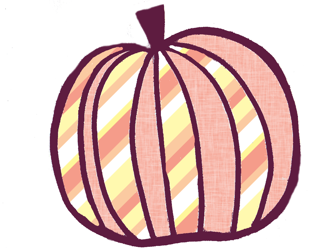 Chevron green orange and pink pumpkin clipart image black and white download Buttercup clip art 8906042 - arming.info image black and white download