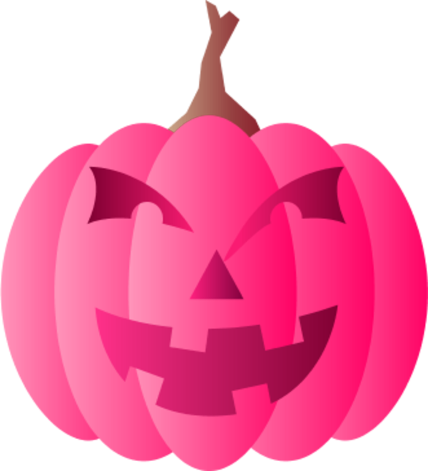 Girly pumpkin clipart graphic transparent library 28+ Collection of Pink Pumpkin Clipart | High quality, free cliparts ... graphic transparent library