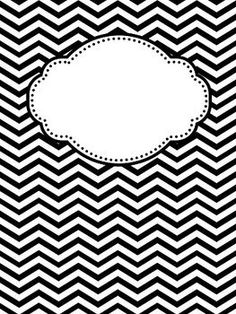 Chevron number 6 clipart vector royalty free download Chevron Borders from Learning Corner on TeachersNotebook.com - (6 ... vector royalty free download