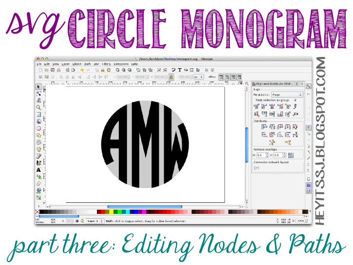 Chevron turkey clipart monogram svg library Hey it's SJ: Did-It-Myself SVG Circle Monogram Tutorial   Part Three ... svg library