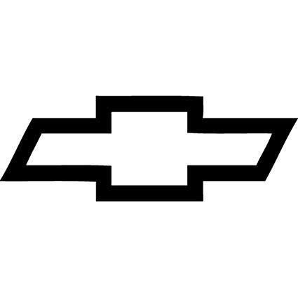 Chevy bowtie clipart clip art freeuse stock Amazon.com: Chevy Bowtie Vinyl Decal \