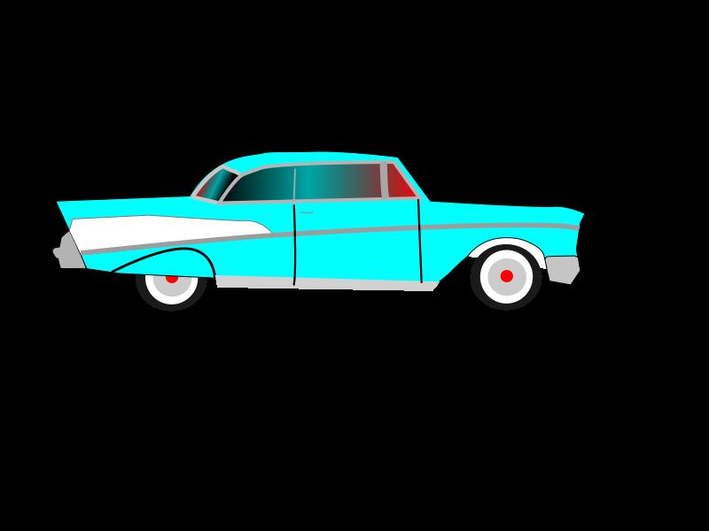 Chevy car clipart clip Clipart - Chevrolet Bel Air clip