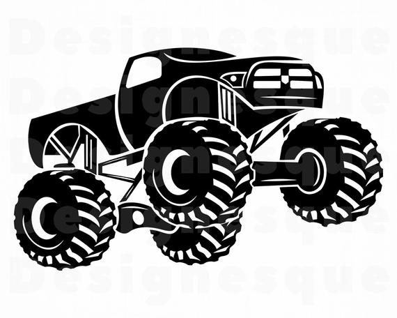 Monster trucks clipart clip freeuse download Monster Truck #2 SVG, Monster Truck SVG, Monster Truck Clipart ... clip freeuse download