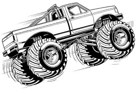 Monster trucks clipart image library Monster Truck Clipart - 45 cliparts image library