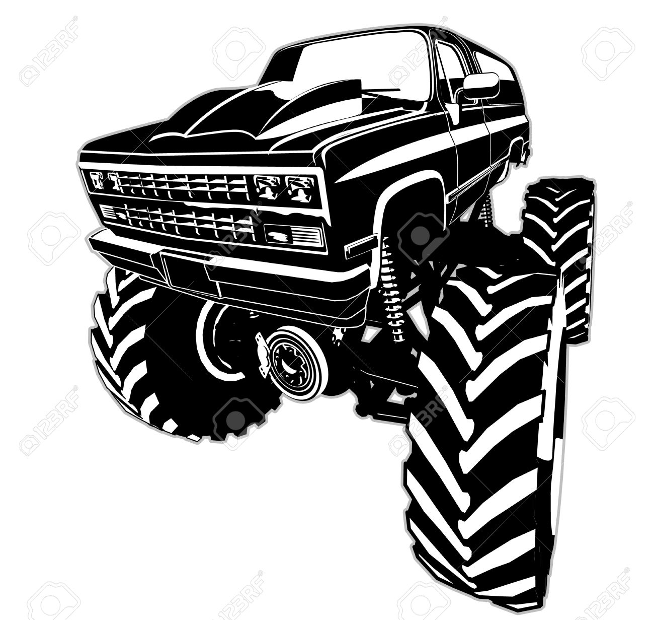 Off road vehicle clipart clip art transparent library Monster Truck Clipart Free | Free download best Monster Truck ... clip art transparent library