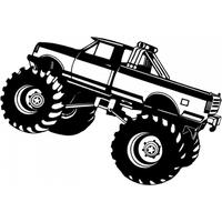 Chevy monster truck clipart clip free library Download Monster Truck Category Png, Clipart and Icons | FreePngClipart clip free library