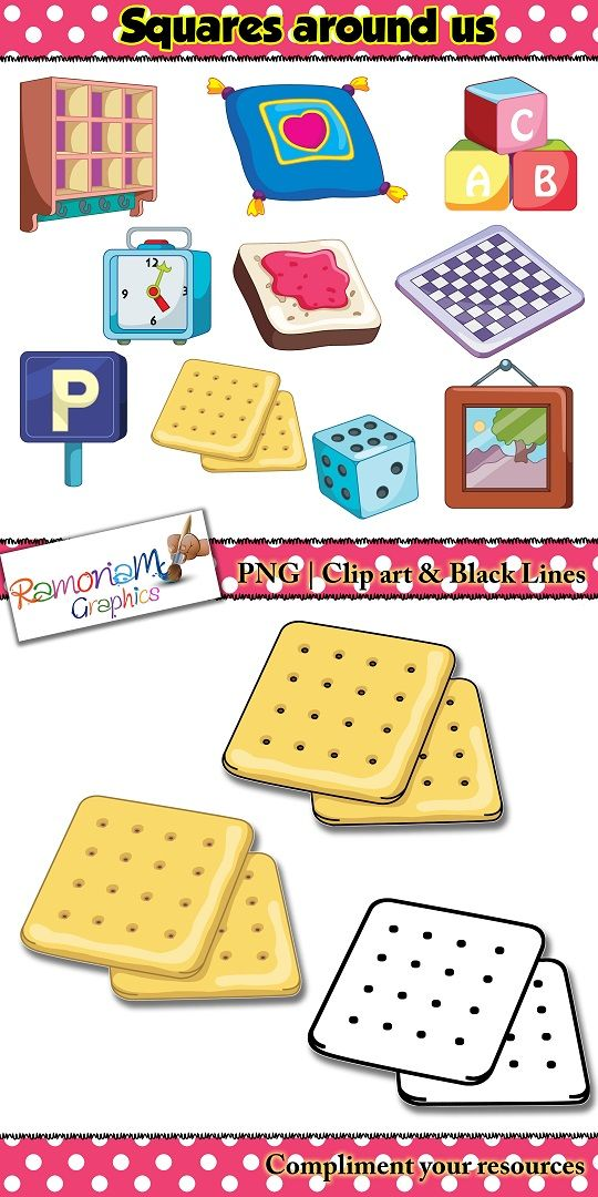 Chez crackers clipart clip art free Shapes 2D squares Clip art   WORLD OF TPT CLIPARTS   Clip art, Math ... clip art free