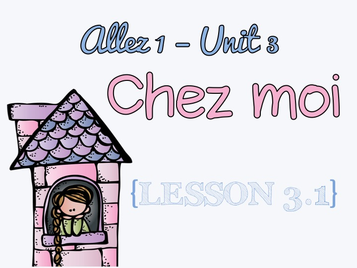 Chez moi clipart banner royalty free library Allez 1 - Unit 3 - Chez moi - 3.1 banner royalty free library