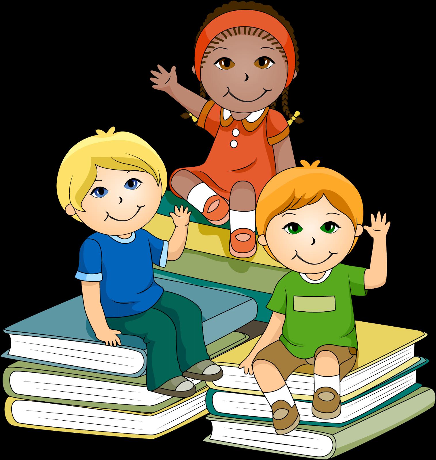 Chhildren reading books clipart banner royalty free download Free Children Reading Books Images, Download Free Clip Art, Free ... banner royalty free download