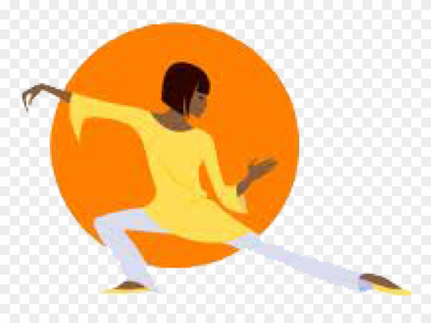 Chi chi clipart svg black and white library Tai Chi - Better Physical And Mental Health Clipart (#653029 ... svg black and white library