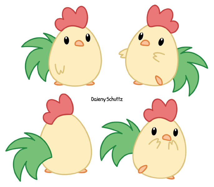Chibi thanksgiving clipart picture royalty free Chibi Rooster by Daieny.deviantart.com on @DeviantArt | Cute ... picture royalty free