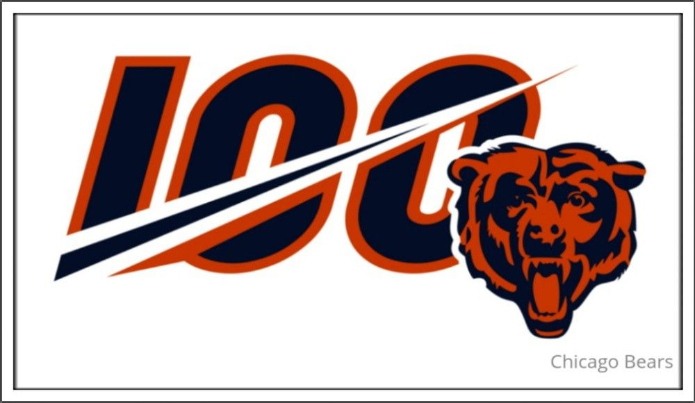 Chicago bears 1986 super bowl champions clipart clip library library Chicago Bears: 100 Anniversary Logo | Chicago Bears | Chicago bears ... clip library library