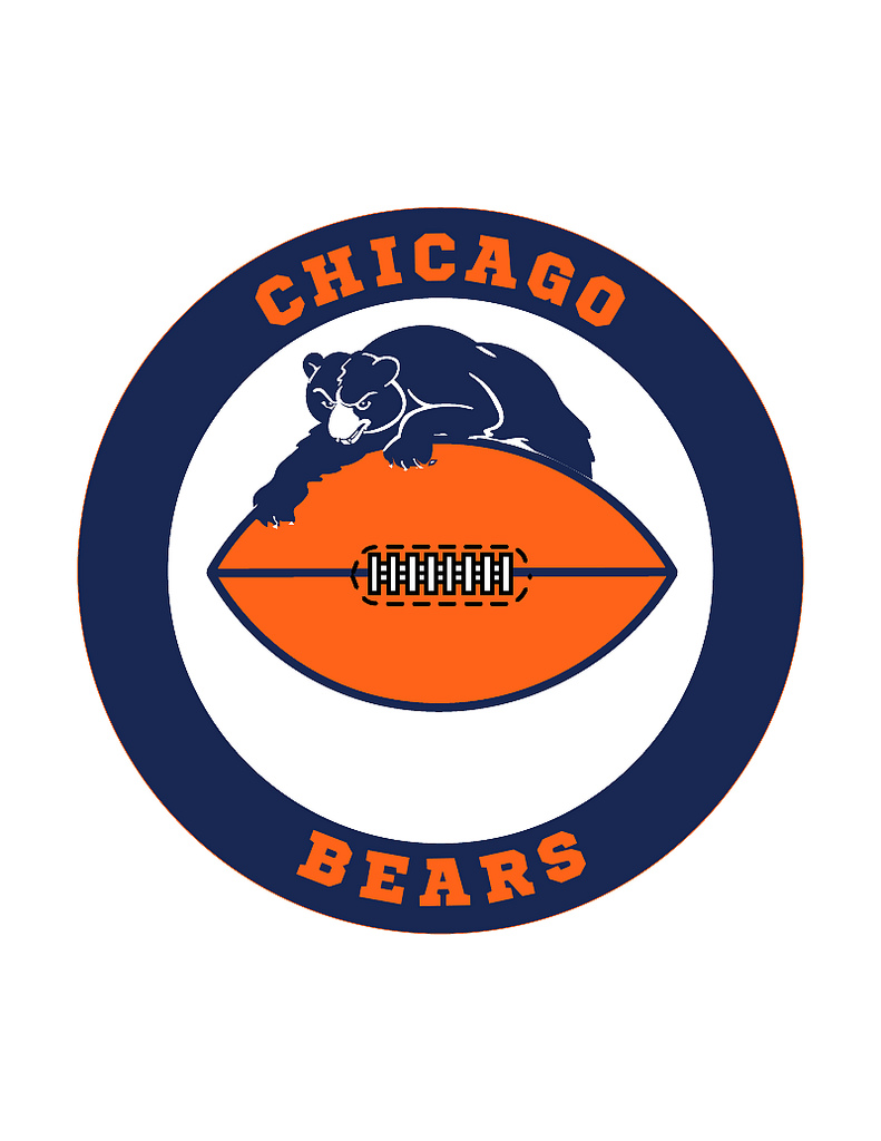 Chicago bears images clipart clip black and white Free Chicago Bears Logo, Download Free Clip Art, Free Clip Art on ... clip black and white