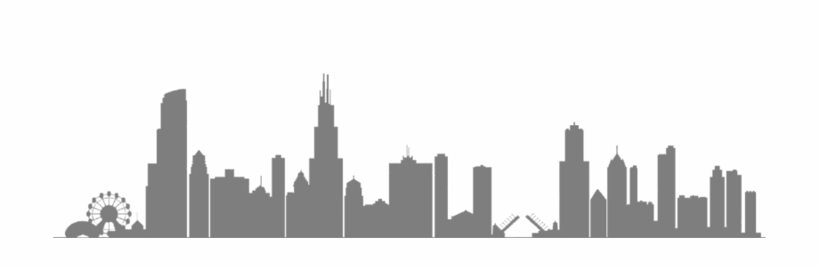 Chicago clipart skyline picture freeuse Chicago Skyline Buildings - Clipart Chicago Skyline Silhouette Free ... picture freeuse