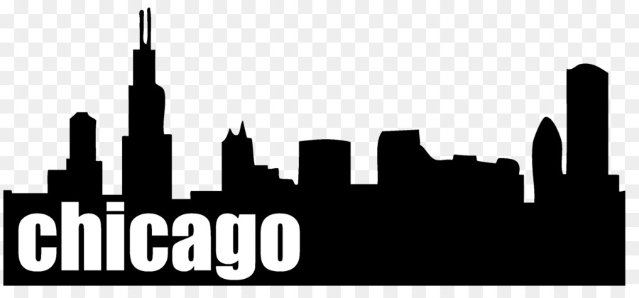 Chicago clipart skyline picture free City Skyline Silhouette clipart - City, transparent clip art picture free