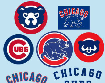 Chicago cubs logo clipart 1908 vector picture transparent library Chicago cubs logo | Etsy picture transparent library