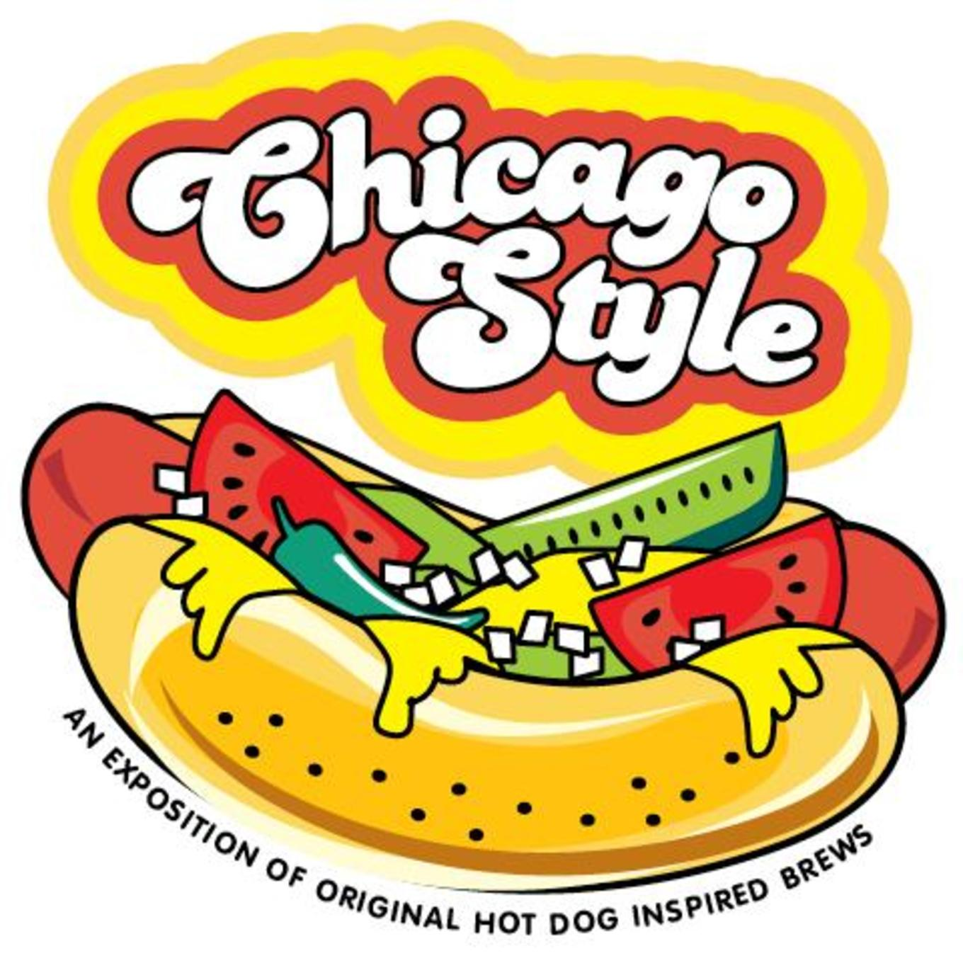 Chicago dog clipart vector download Chicago Style: An Exposition of Original Hotdog Inspired Brews ... vector download