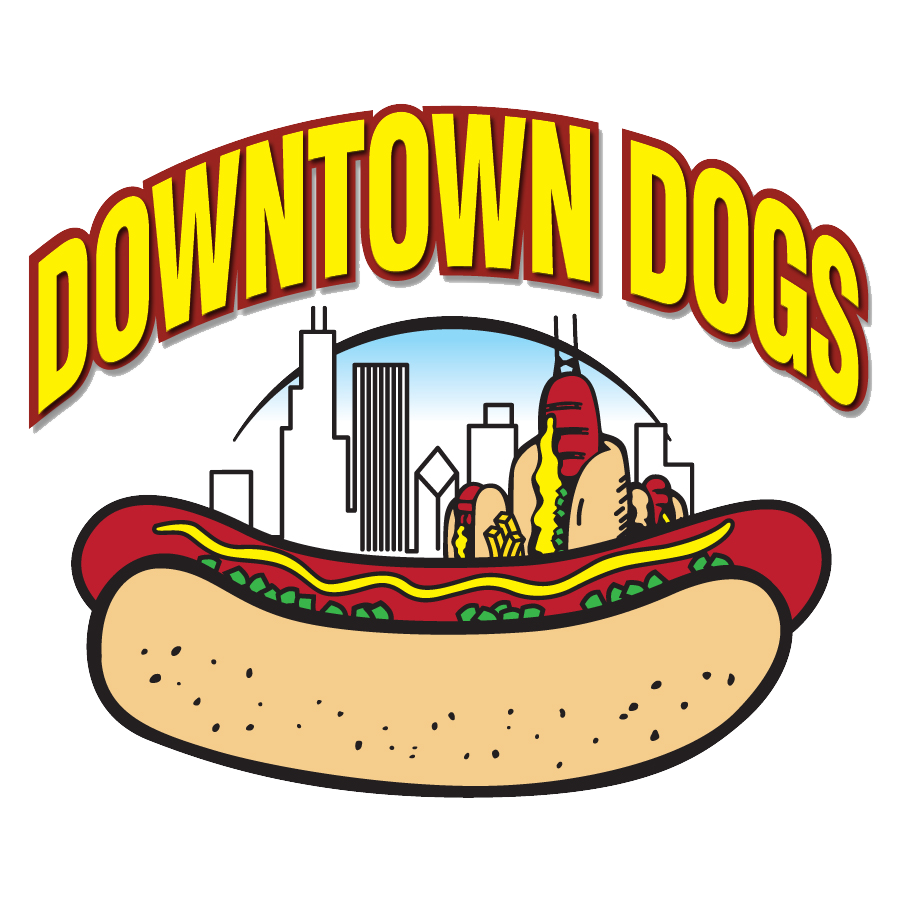 Eating hot dog clipart vector royalty free Downtown Dogs | Chicago Hot Dogs-Absolutely No Ketchup vector royalty free