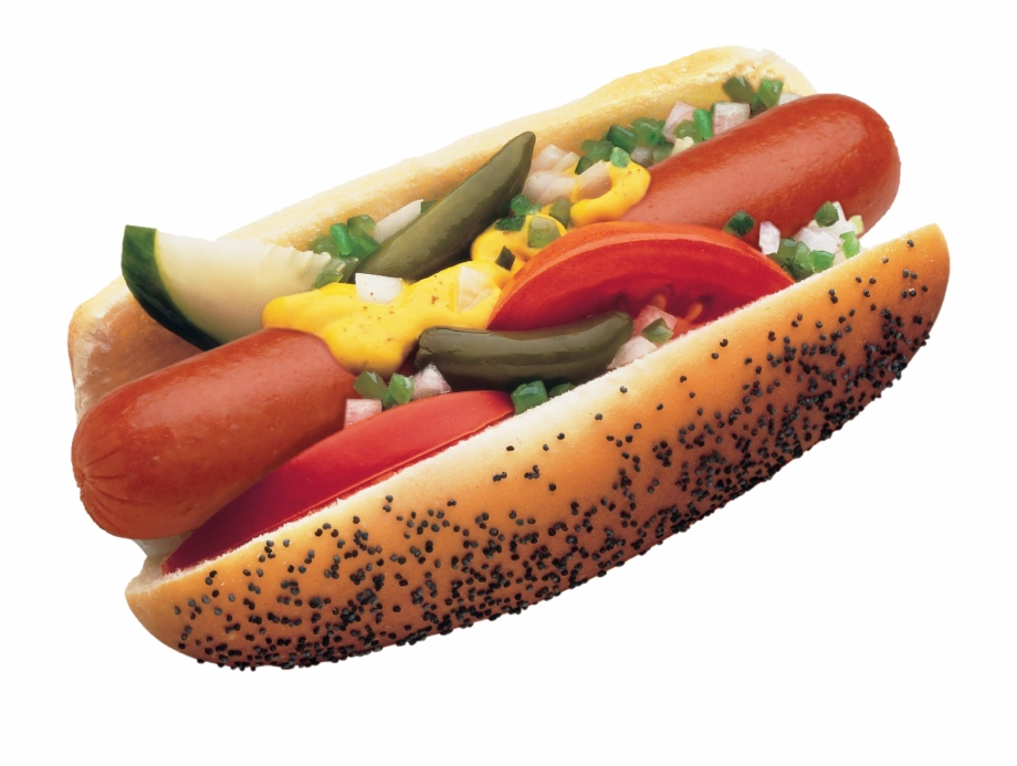 Chicago hot dogs clipart vector transparent library Chicago Style Hot Dog Free PNG Images & Clipart Download #1914391 ... vector transparent library