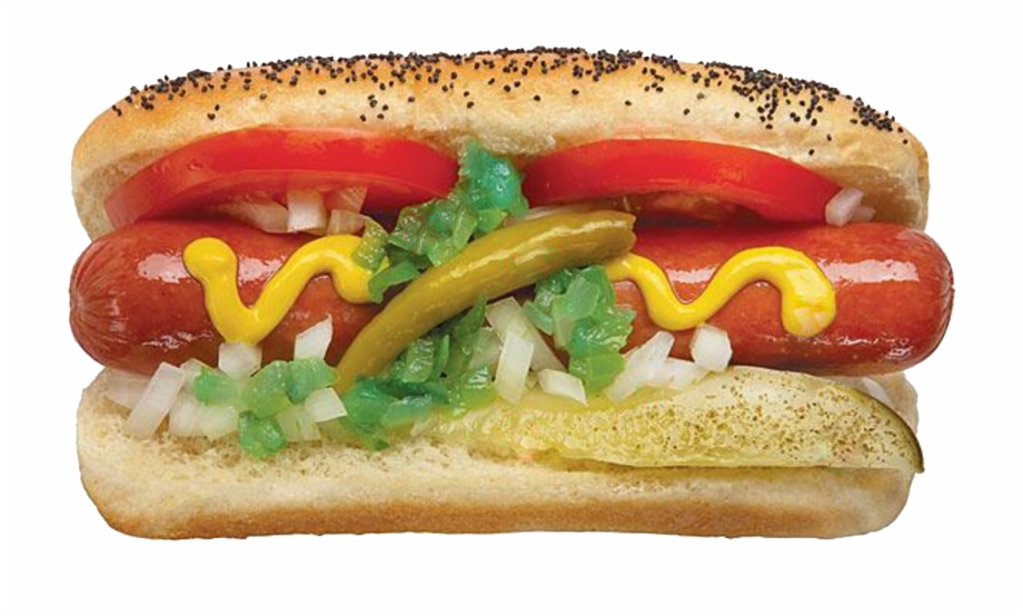 Chicago hot dogs clipart png transparent library Hot Dog Png Image - High Res Hot Dog, Transparent Png Download For ... png transparent library