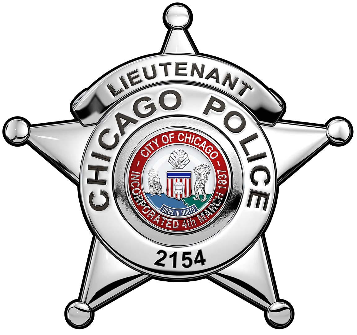 Chicago police department clipart svg library Chicago Police Department (Lieutenant) Badge Clock with your Badge ... svg library