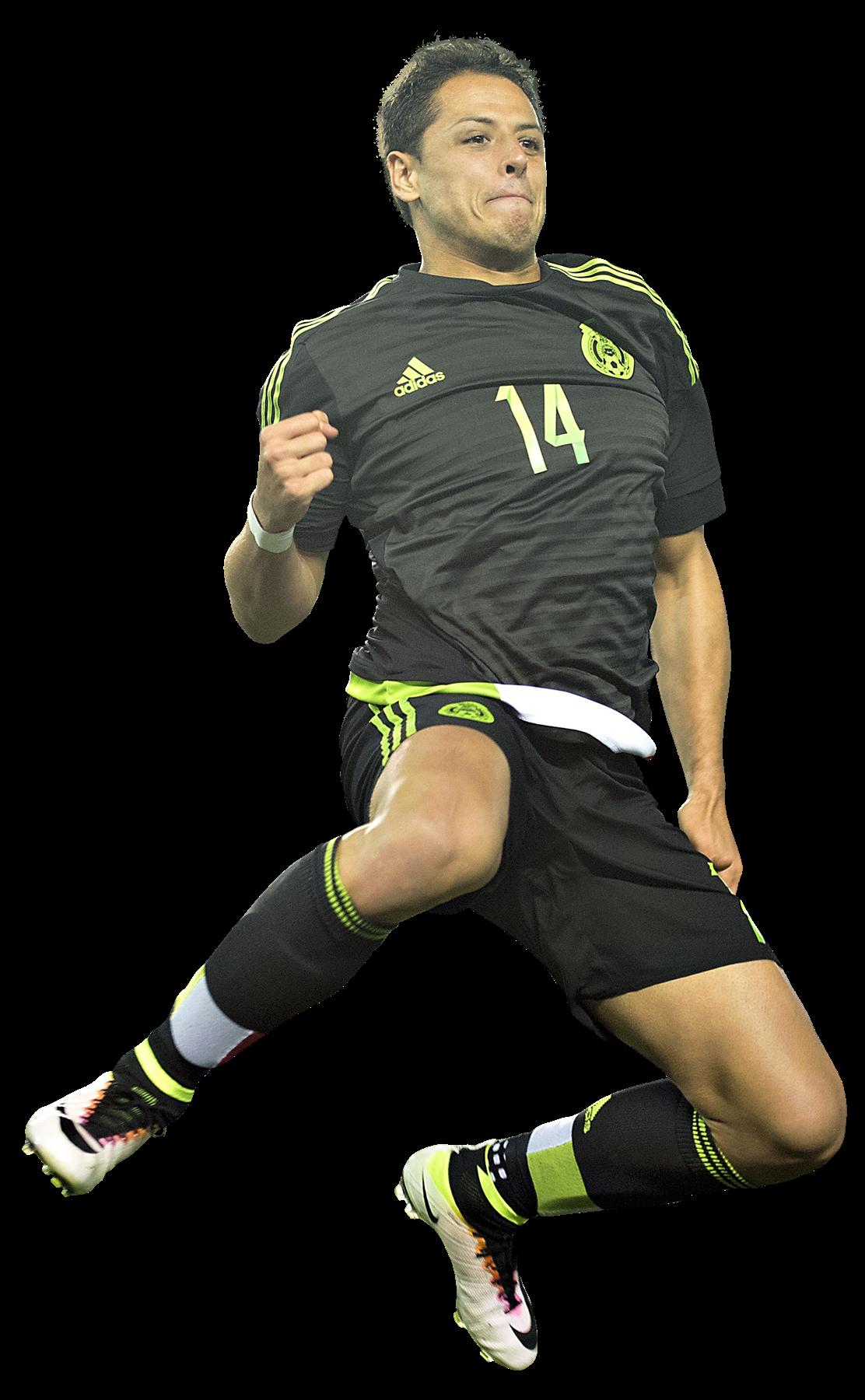 "Chicharito clipart png stock Javier ""Chicharito"" Hernandez football render - 26326 - FootyRenders png stock"