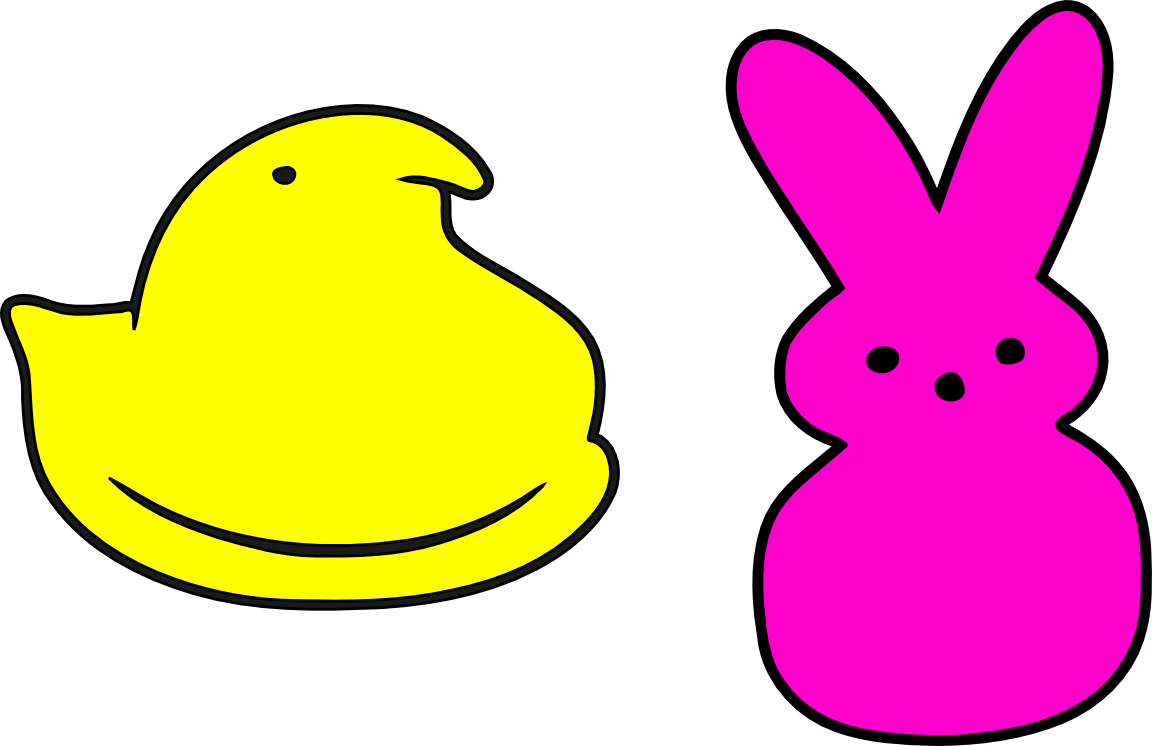 Peeps clipart png black and white download Peeps Logo Cliparts | Free Download Clip Art | Free Clip Art | on ... png black and white download